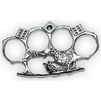 Poing américain design Aigle argenté - Arme de poing