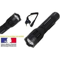 Taser shocker LED noir - Tazer ultra puissant 9 800 000 volts !