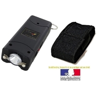 Taser shocker LED compact - Tazer ultra puissant 9 800 000 volts !.