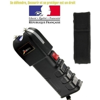 Taser shocker électrique LED - Tazer puissant 9 800 000 volts !