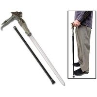 Canne épée 90cm de marche - Design Dragon Cyborg