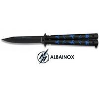 Balisong couteau papillon 22,3cm ALBAINOX - Design Ninja