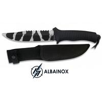 Poignard couteau tactique 28,2cm - Camouflage ALBAINOX