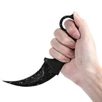Couteau CS GO Counter Strike 18,7cm - noir blanc tactique.