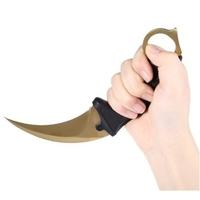 Couteau CS GO Counter Strike 18,7cm - doré tactique.