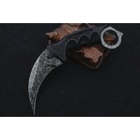 Couteau CS GO Counter Strike 18,7cm - tactique gris.