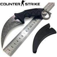 Couteau CS GO Counter Strike 18,7cm - tactique gris