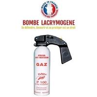 Bombe lacrymogène 500ml GAZ CS - aérosol spray lacrymo