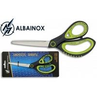Ciseaux ALBAINOX 20,6cm professionnel paire - noir vert