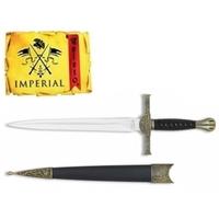 Dague 30cm médiévale de collection - IMPERIAL TOLE10