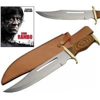 Grand poignard 40cm de chasse - Couteau RAMBO bowie