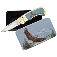 Coffret collector couteau pliant - Collection Aigle