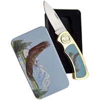 Coffret collector couteau pliant - Collection Aigle.