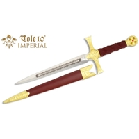 Dague 31cm médiévale noble - IMPERIAL TOLE10