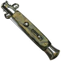 Grand couteau Italien 24cm automatique à cran d'arret.