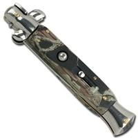 Grand couteau Italien 24cm automatique à cran d'arret2.