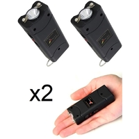 Lot de 2 tasers LED taser pack - Tazers 9 800 000 volts !