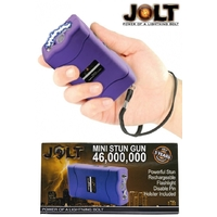 Taser shocker LED  violet - Tazer puissant 46 000 000 volts !