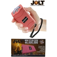 Taser shocker LED rose - Tazer puissant 46 000 000 volts !