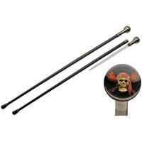 Canne épée 94cm de marche - Design Pirate Squelette
