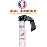 Extincteur lacrymogène 300ml POIVRE OC - Lacrymo bombe