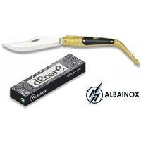 Couteau Navaja pliant 19cm ALBAINOX - laiton