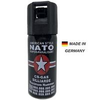 Bombe lacrymogène 60ml GAZ défense - Lacrymo NATO