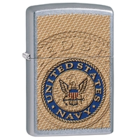 Briquet Zippo officiel - Navy United States USA