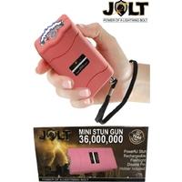 Taser shocker 36 000 000 volts ! LED + Tazer puissant (rose)