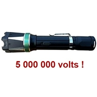 Taser shocker 5 000 000 volts ! LED + Tazer puissant...