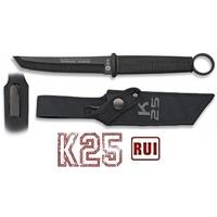 Couteau tactique titane 25cm tanto de botte - RUI K25