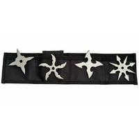 4 étoiles ninja shuriken, lancer jet