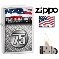 Briquet Zippo officiel - Pearl Harbor commémoration 75ans.