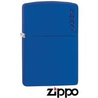 Briquet Zippo officiel - Collection classique bleu