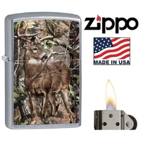 Briquet Zippo officiel - Animal chevreuil cerf biche......