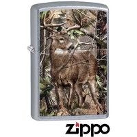 Briquet Zippo officiel - Animal chevreuil cerf biche