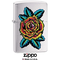Briquet Zippo officiel - Collection Fleur tatoo