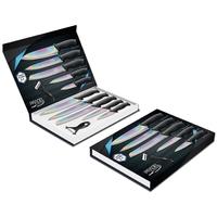 Coffret couteaux PRADEL couteau de cuisine table - Titane multi.
