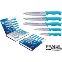 Coffret couteaux PRADEL couteau de cuisine table - Titane multi