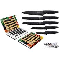Coffret couteaux PRADEL couteau de cuisine table - Pierre noire