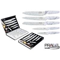 Coffret couteaux PRADEL couteau de cuisine table - Pierre blanche