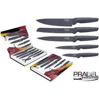 Coffret couteaux PRADEL couteau de cuisine table - Pierre grise