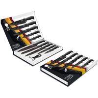 Coffret couteaux PRADEL couteau de cuisine table - Acier noir.