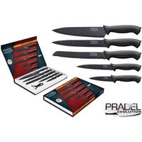 Coffret couteaux PRADEL couteau de cuisine table - Acier noir