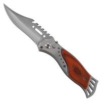 Couteau automatique 20,5cm à cran d'arrêt - bois acier