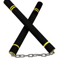 Nunchaku noir style Bruce Lee - idéal entraînement