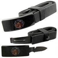 Couteau ceinture universelle toutes tailles - Pompier fire dept