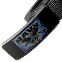Couteau ceinture universel toutes tailles - Design Navy.