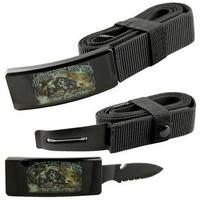 Couteau ceinture universelle toutes tailles - Squelette armée