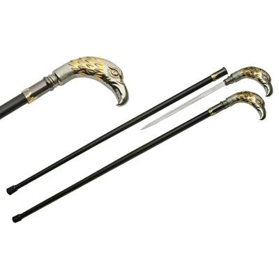 Canne épée 93,5cm baton de marche - Design Aigle